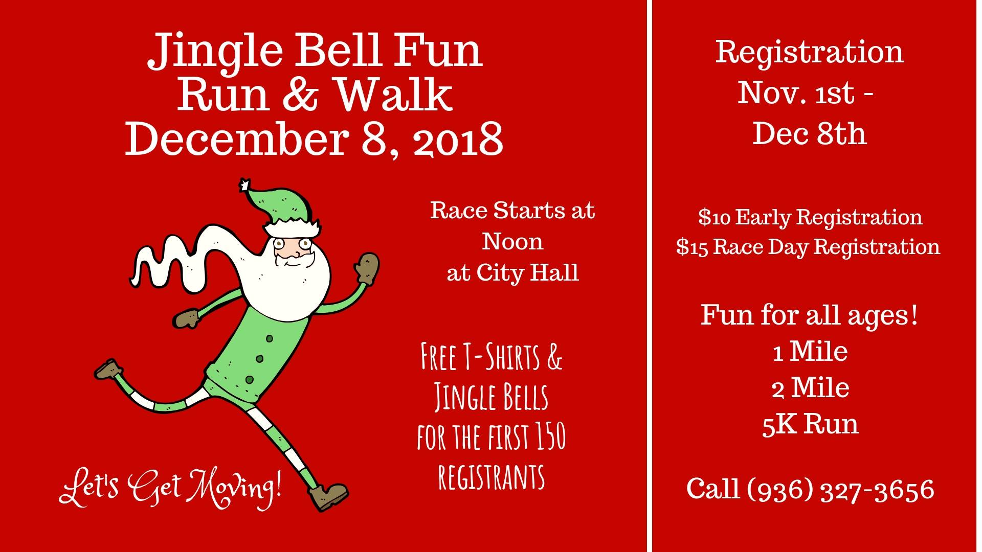 Jingle Bell Fun Run 2018