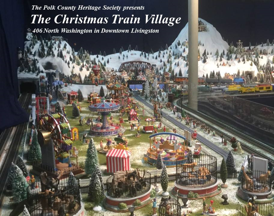 Christmas Train Village 2018