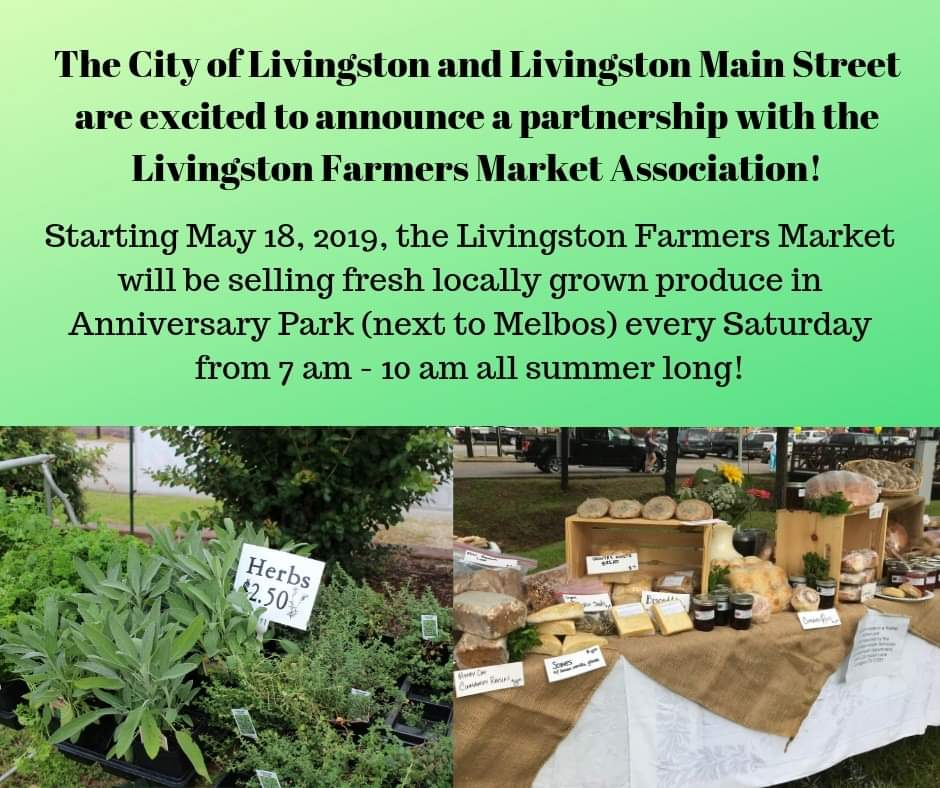 Livingston Farmers Market 2019